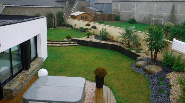 Comment Créer Un Jardin Moderne? tout Exemple D Aménagement De Jardin