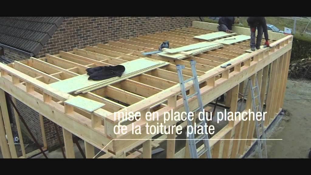 Comment Faire Un Toit Plat En Bois Concept - Idees avec Comment Faire Un Toit Plat En Bois
