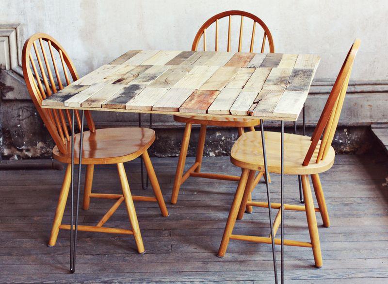 Comment Faire Une Table De Cuisine En Palette Bois Id E avec Fabriquer Une Coiffeuse En Palette