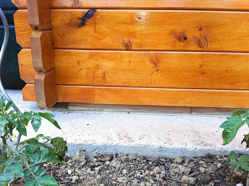 Comment Fixer Un Abri De Jardin Sur Une Dalle Beton - Abri dedans Abri De Jardin Solde