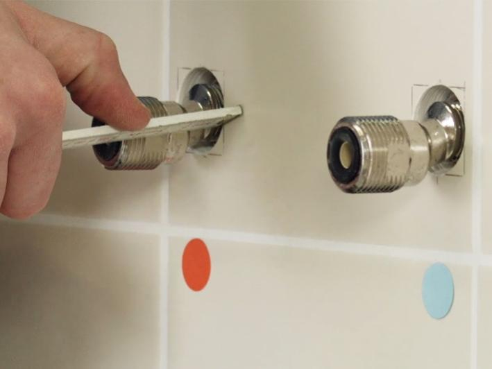 Comment Installer Un Thermostatique Bain Douche - Tuto | Grohe avec Installation Robinet Douche