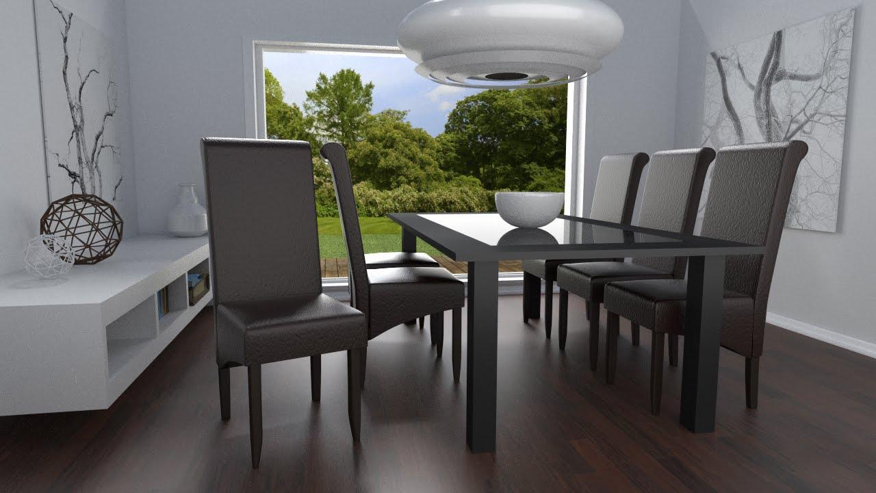 Comment Monter Votre Chaise De Salle À Manger Design concernant Decor De Salle À Manger