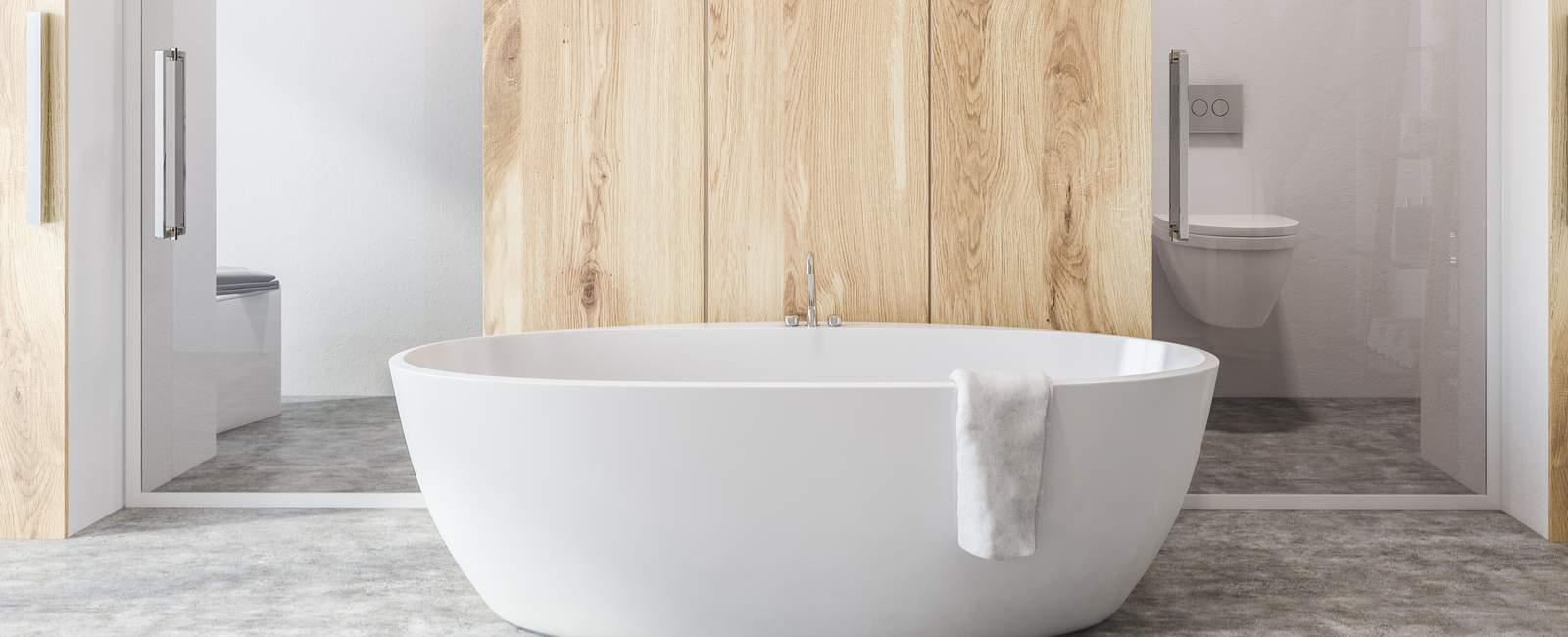 Comment Utiliser Les Panneaux D'habillage Pour Rénover Sa destiné Stratifié Haute Pression Salle De Bain