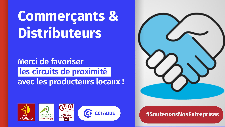 Commerçants & Distributeurs : Merci De Favoriser Les concernant Chambre Des Metiers Carcassonne