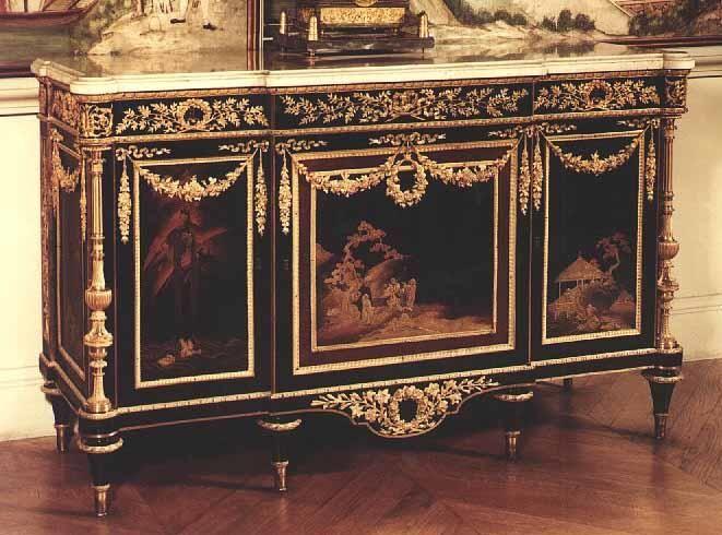 Commode Placée Dans Le Grand Cabinet De Mme Adélaïde pour Meubles Martin