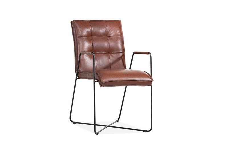 Concirt - La Chaise En Cuir Concirt A Un Caractère tout Meuble Lambermont