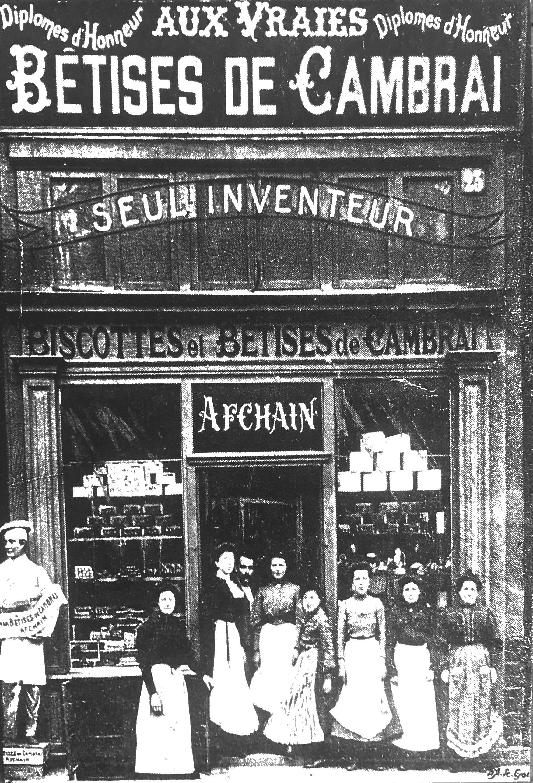 Confiserie Afchain, Seul Inventeur De La Bêtise De Cambrai pour Magasin De Meubles Cambrai