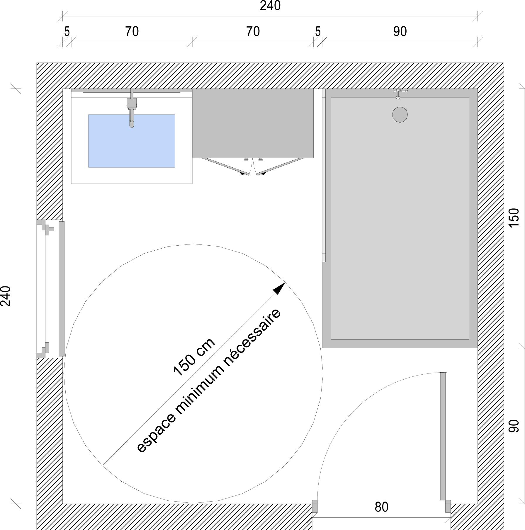 Salle De Bain Handicapé Norme - AgenceCormierDelauniere.com