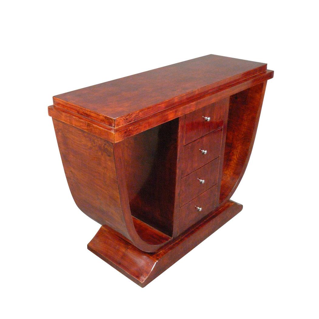 Console Art Déco Nice En Bois D'érable - Mobilier Art Déco destiné Le Bon Coin 62 Meubles