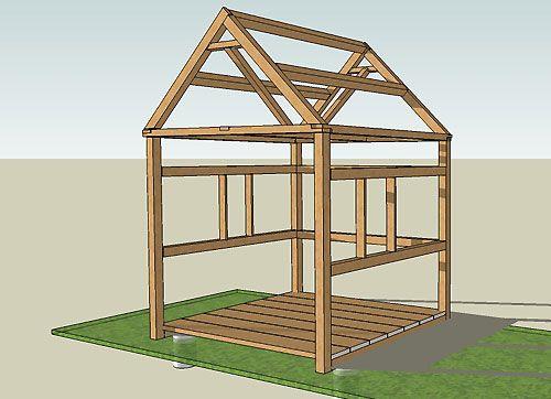 Construction-Abri-De-Jardin | Abri De Jardin, Construire tout Plan Abri De Jardin En Bois Gratuit