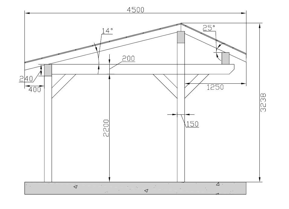 Construction Abri Plans Et Tapes Pour Construire Un Abri avec Plan Abri De Jardin En Bois Gratuit