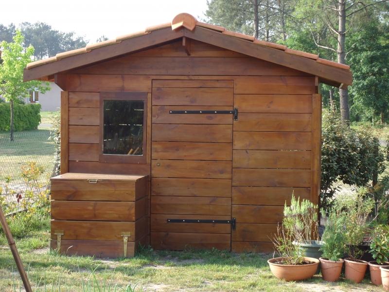 Construction Abris De Jardin En Bois Landes à Abri De Jardin Sur Mesure