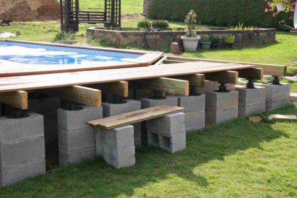 Construction De La Plage | Jardin En 2019 | Schwimmbad dedans Piscine Sur Terrasse En Hauteur