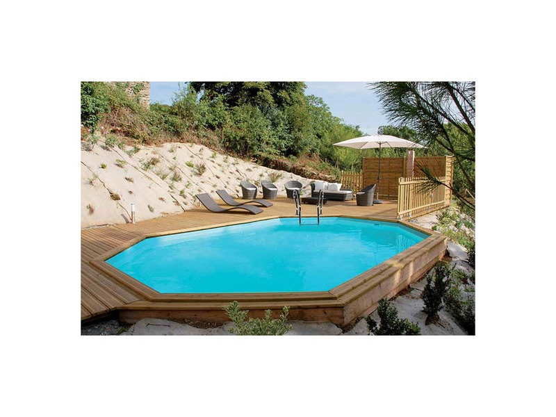 Construction Piscine Bois : Woodfirst Original 735X410 dedans Piscine Woodfirst