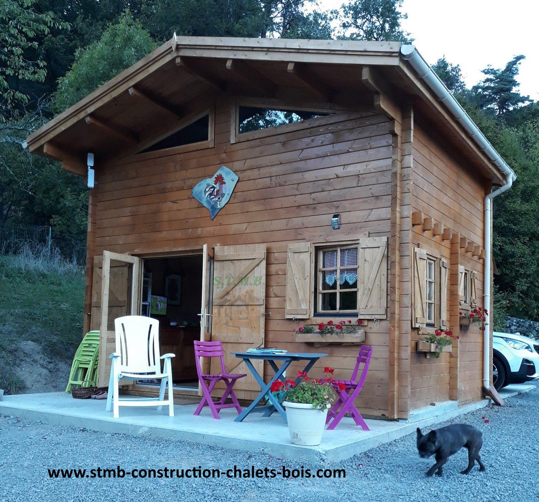 Construire Sa Maison En Bois Sans Permis De | Ventana Blog dedans Chalet 20M2 Avec Mezzanine