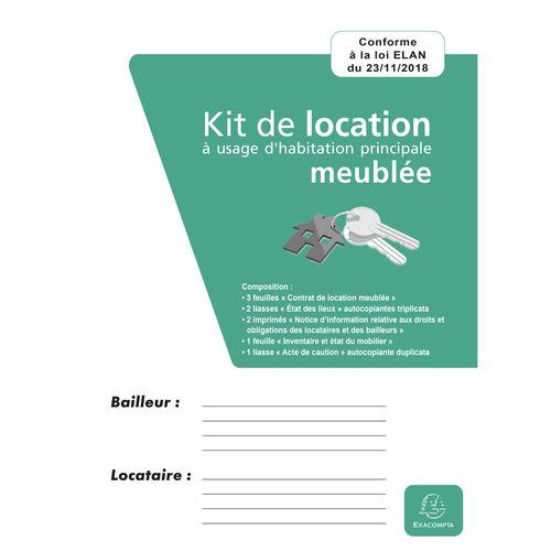 Contrat Type - Papeterie Facile tout Contrat De Location Meublée