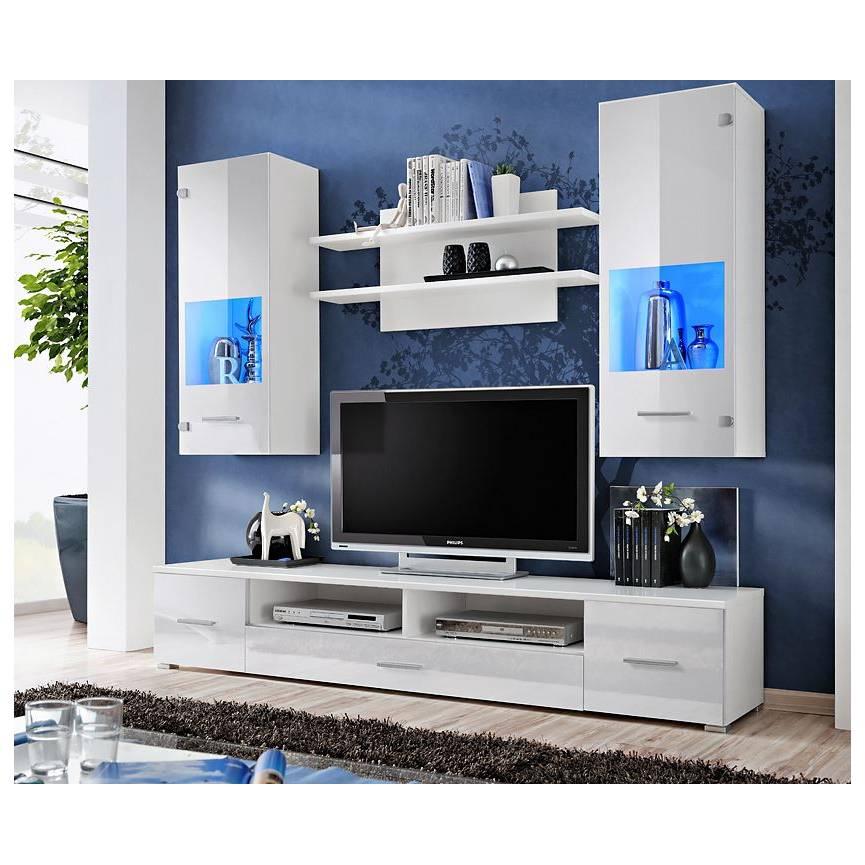 Corte Tv Storage Combination, White, Tv Storage dedans Meubles Tv But