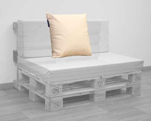 Coussins D´extérieur Pour Canapé En Palettes   Ma Mousse avec Coussins Exterieur Pour Palette