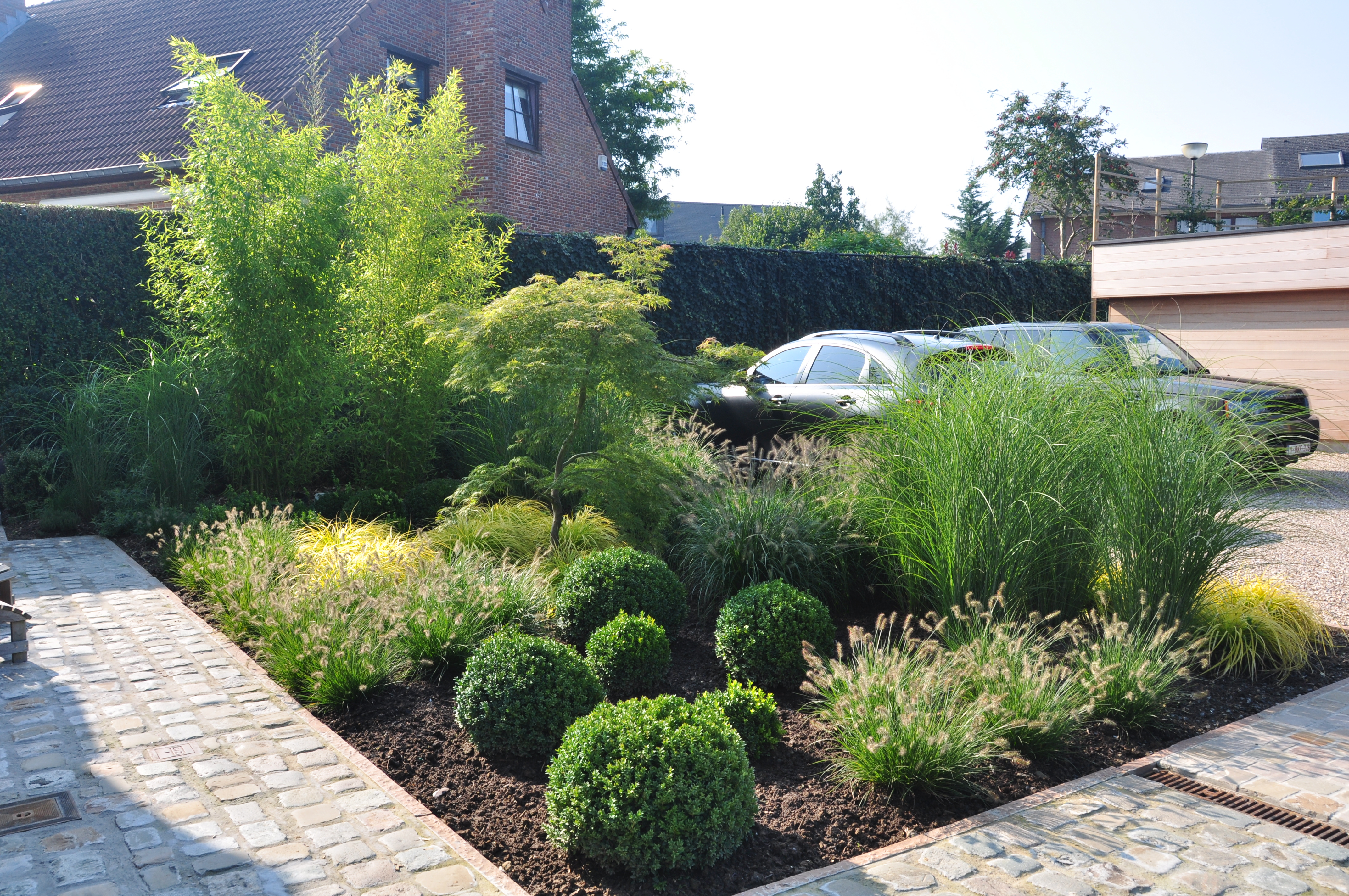 Création, Aménagement Et Entretien De Jardins - Jardilfore à Parterre Devant Maison