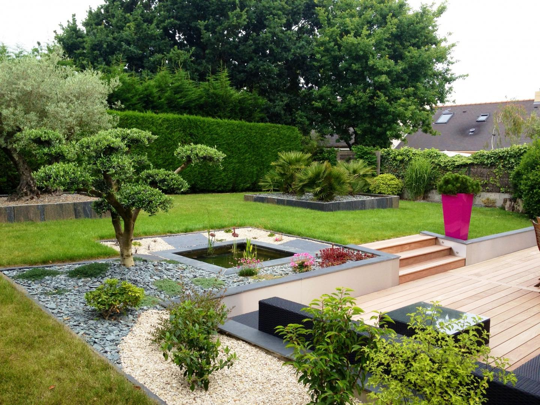 Création De Terrasses Dans Tout Le 44 - Cessou encequiconcerne Exemple D Aménagement De Jardin