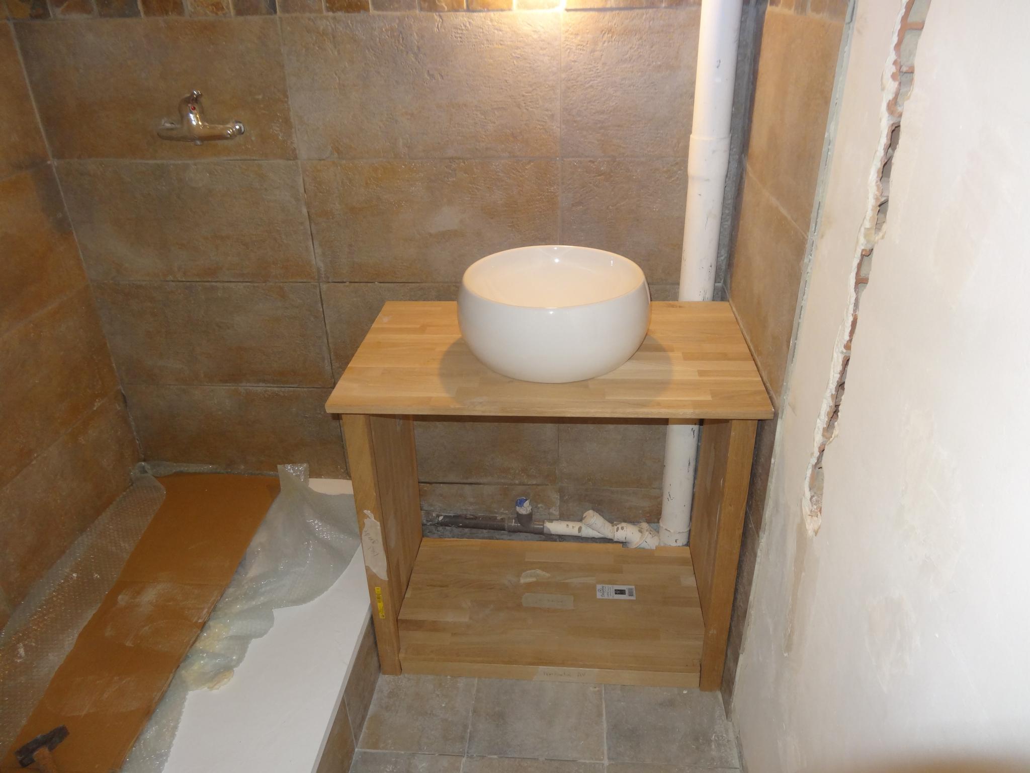 Nouveau Création D'un Meuble Sous Vasque Sur Mesure - Faire Soi-Même AF-69