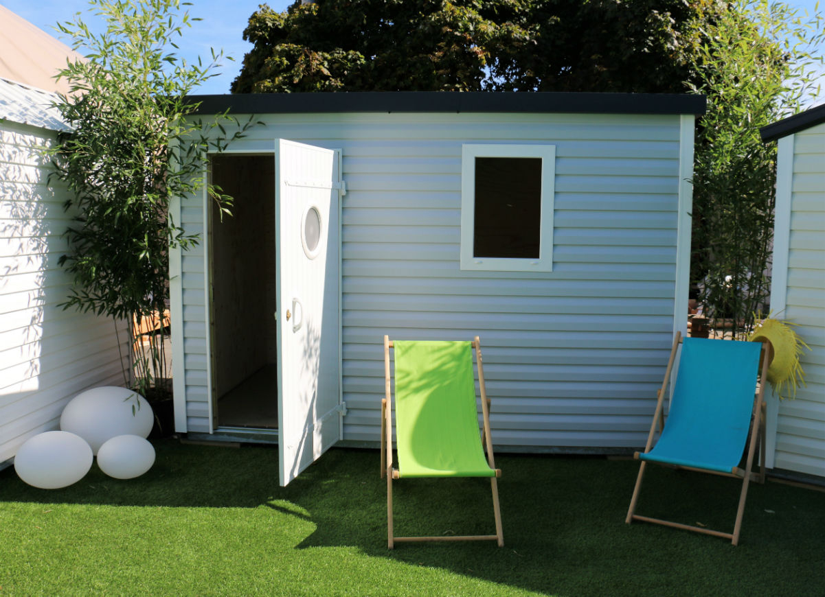 Dacri, L'abri De Jardin | Abris Design Toit Plat intérieur Abris De Jardin Toit Plat