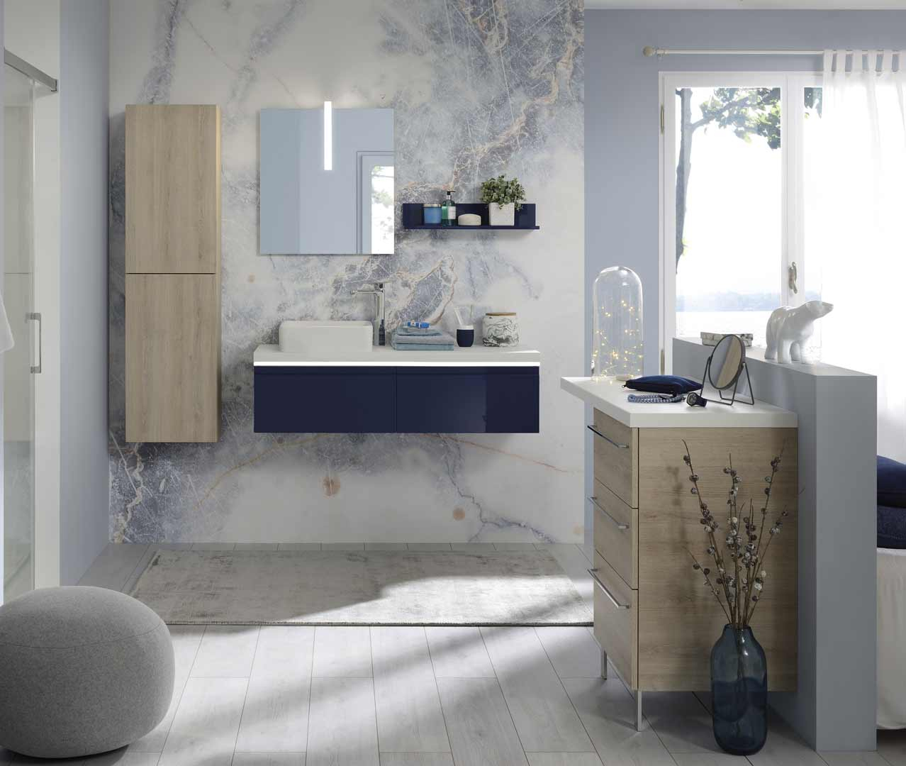 Dasasortiment Halo, Design-Badezimmermöbel – Sanijura intérieur 3 Suisses Meuble Salle De Bain