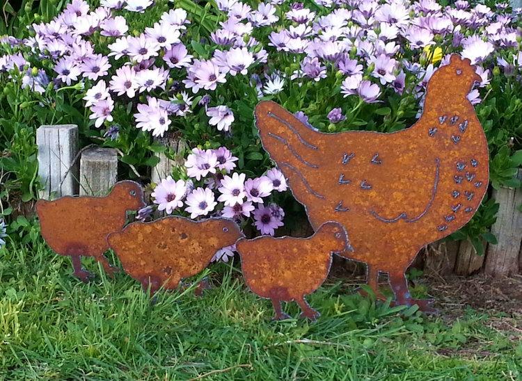 Déco Métal Jardin Comment L'acier Corten S'inscrit Dans L encequiconcerne Deco Metal Jardin