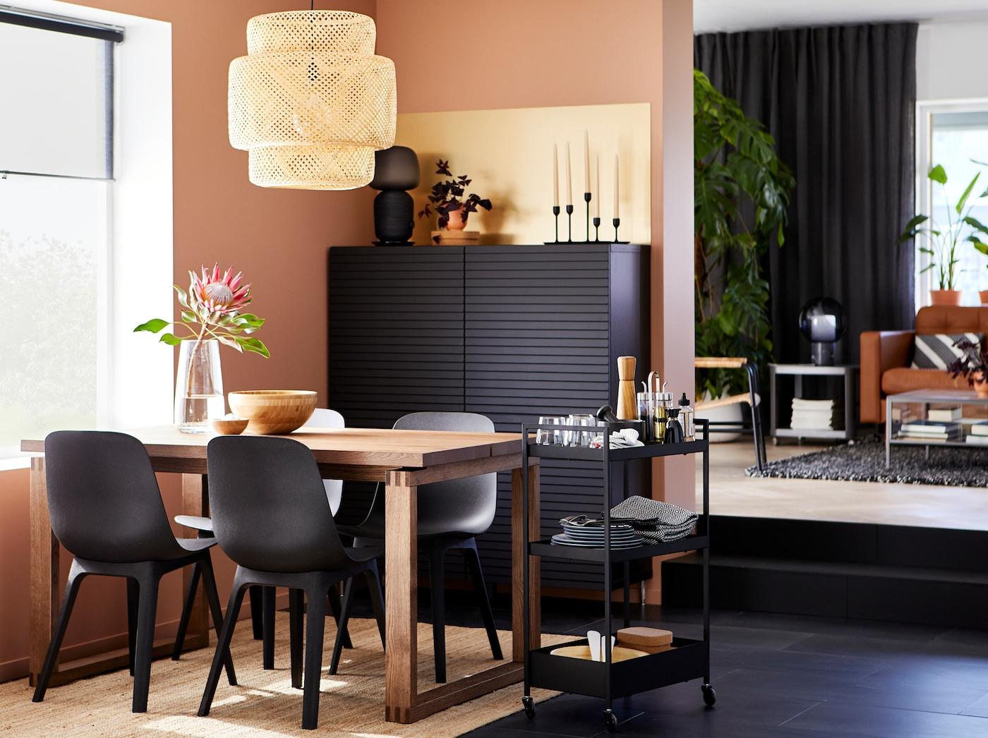 Déco Salle À Manger : Notre Galerie De Photos - Ikea avec Table Salle A Manger Pliante Ikea