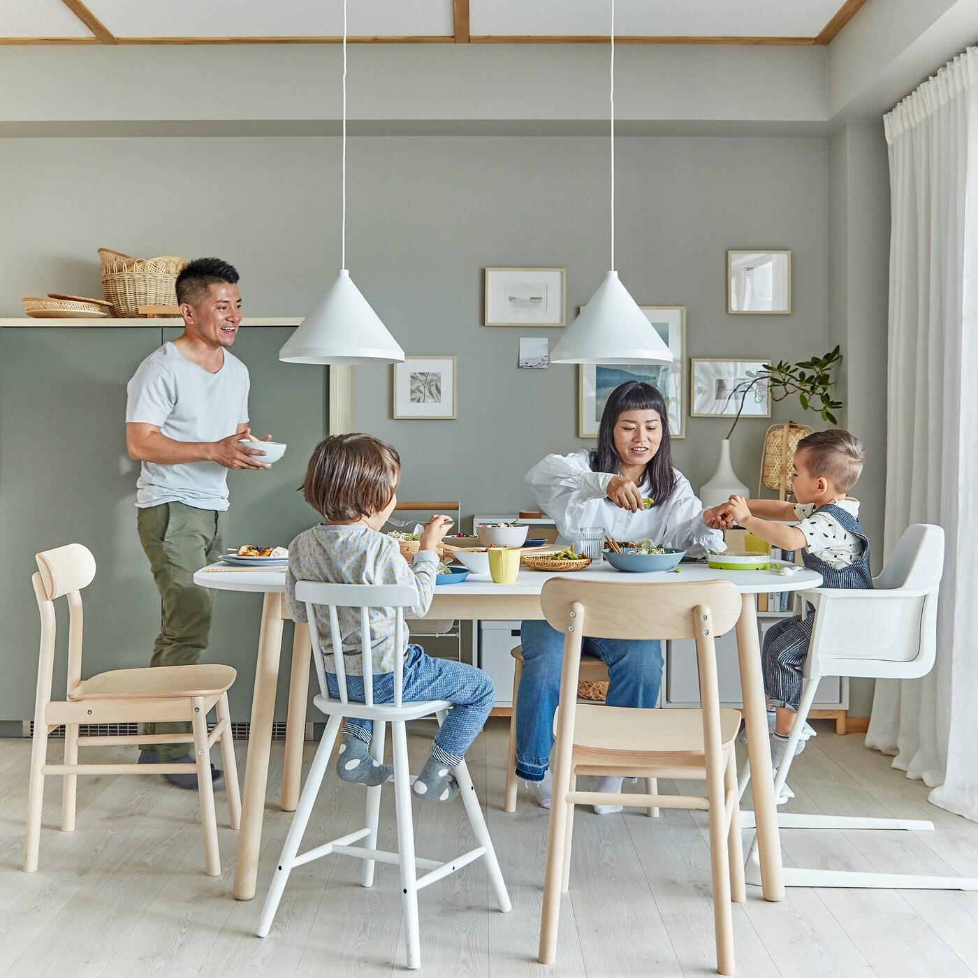 Déco Salle À Manger : Notre Galerie De Photos - Ikea encequiconcerne Table Salle A Manger Pliante Ikea