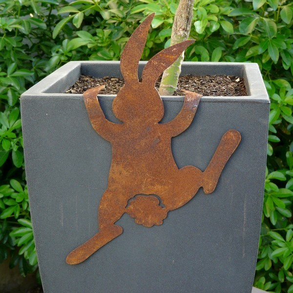 Decoration Jardin Metal Rouille tout Décoration Jardin Fer Forgé