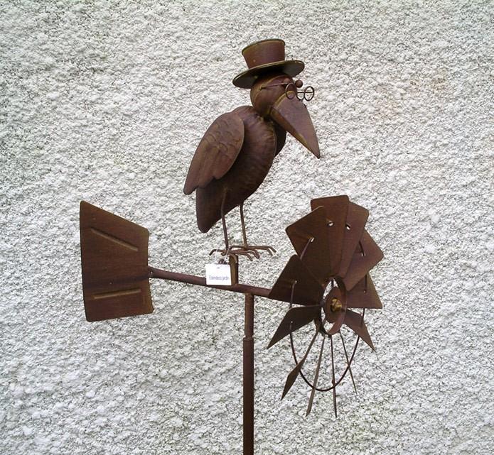 Decoration Metal Pour Jardin concernant Deco Metal Jardin
