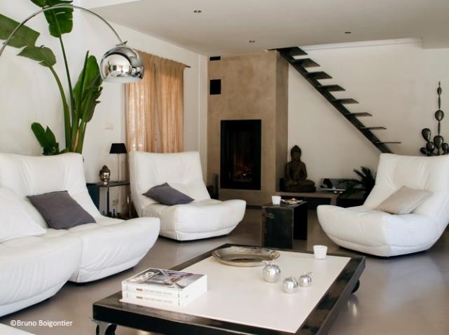 Decoration Salon Design serapportantà Idees De Salon