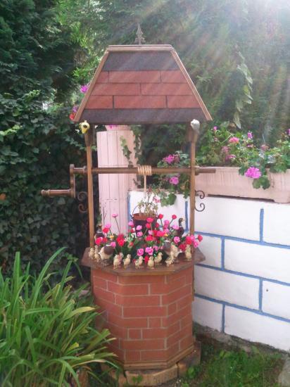 Décorations De Jardin dedans Puit Decoratif Jardin