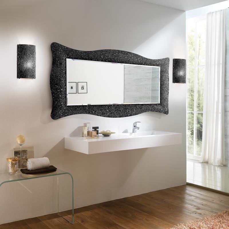 Découvrez Notre Collection De Miroir Baroque En 168X73 Cm Noir encequiconcerne Miroir Salle De Bain