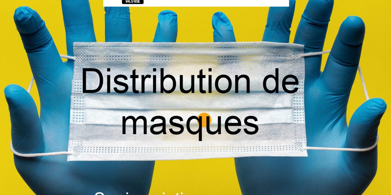 Distribution De Masques Aux Artisans - Covid-19 dedans Chambre Des Metiers Cergy