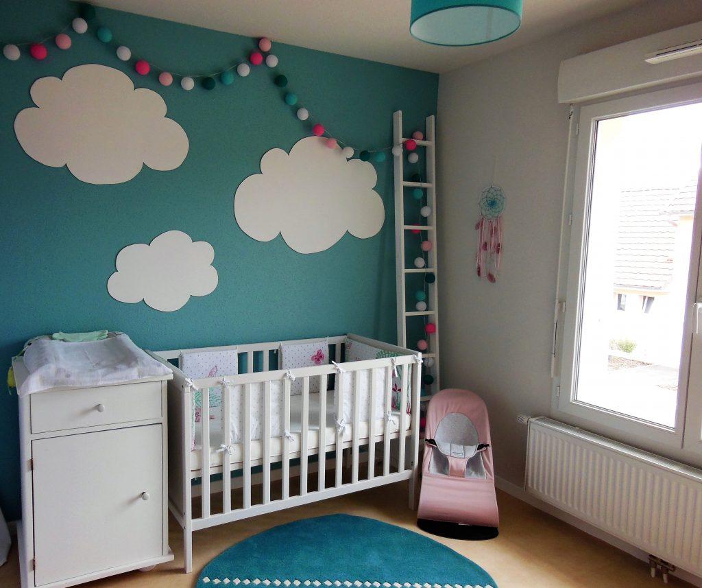 Diy Décoration Murale Nuages Chambre Enfant pour Decoration Nuage