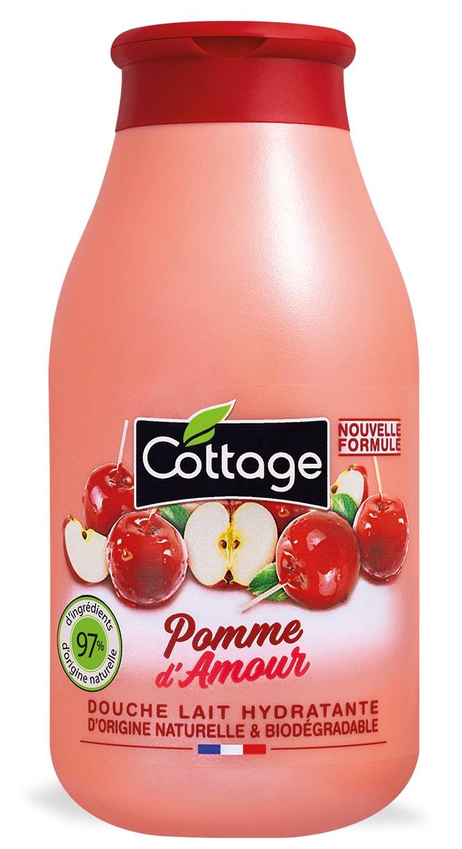 Douche Lait Hydratante - Pomme D'amour Cottage - Beauté Test - Beauté Test avec Gel Douche Cottage Prix