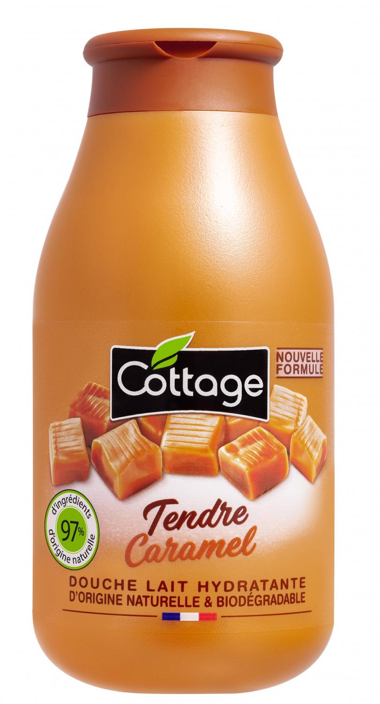 Douche Lait Hydratante - Tendre Caramel Cottage - Beauté Test - Beauté Test avec Gel Douche Cottage Prix