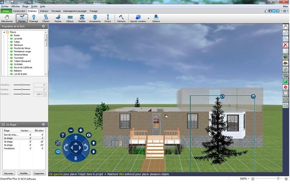 Dreamplan - Logiciel De Cao D'Habitat Et De Paysage pour Logiciel Plan De Jardin