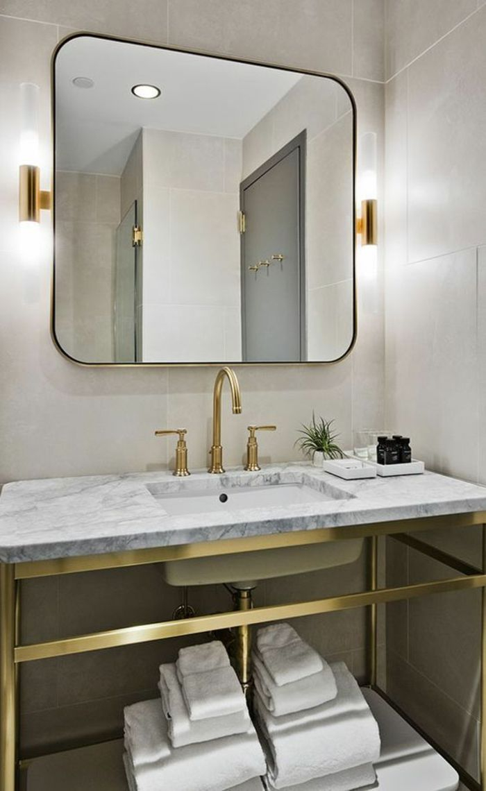 ▷ 1001+ Idées Pour Un Miroir Salle De Bain Lumineux + Les destiné Mirroir Salle De Bain