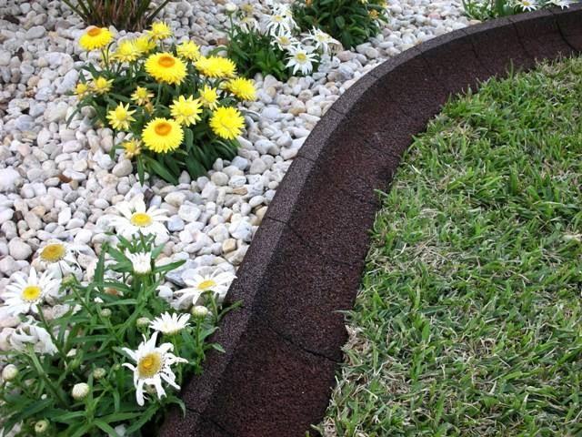 Ecoborder Earthcurb Gives Your Yard Or Garden The Artful encequiconcerne Delimitation Jardin