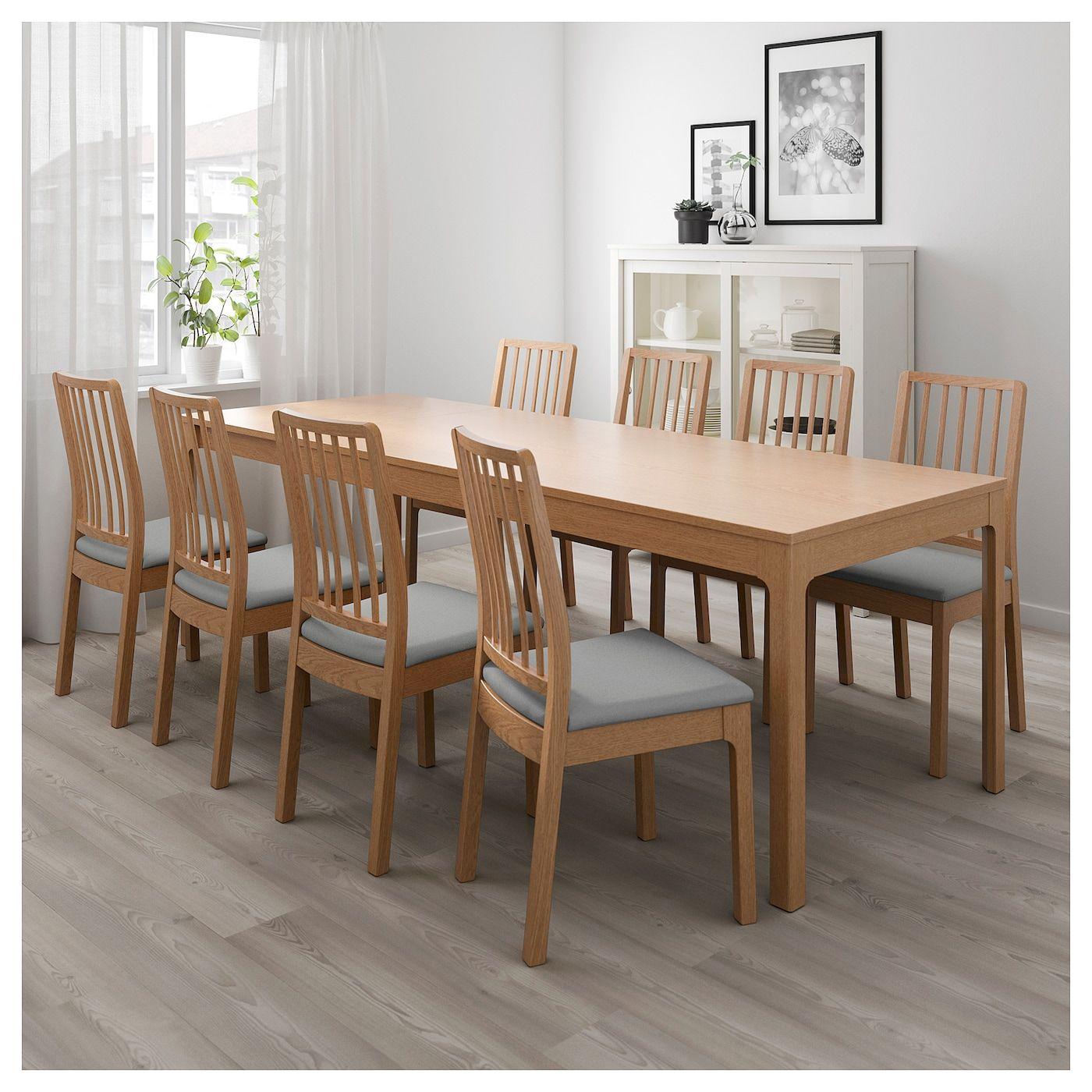 Ekedalen Table Extensible - Chêne 180/240X90 Cm | Table À encequiconcerne Tables Salle À Manger Ikea