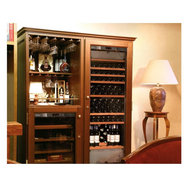 Elite, A Range Of Wooden Furniture For Wine Cabinets dedans Petit Climatiseur Pour Cave A Vin