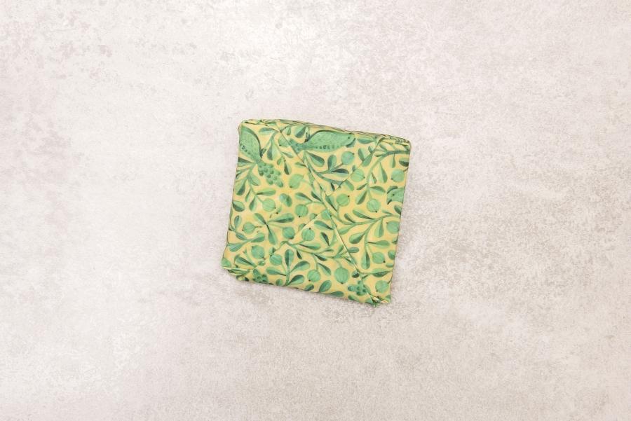 Emballage À La Cire D'Abeille Medium 25X30 Cm (2 Pièces pour Patiner Un Meuble À La Cire D'Abeille