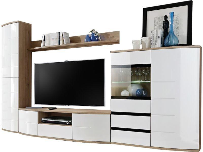 Ensemble Meuble Tv 300 Cm Avec Banc Tv Etageres Haute Avec Meuble Tele Conforama Agencecormierdelauniere Com Agencecormierdelauniere Com