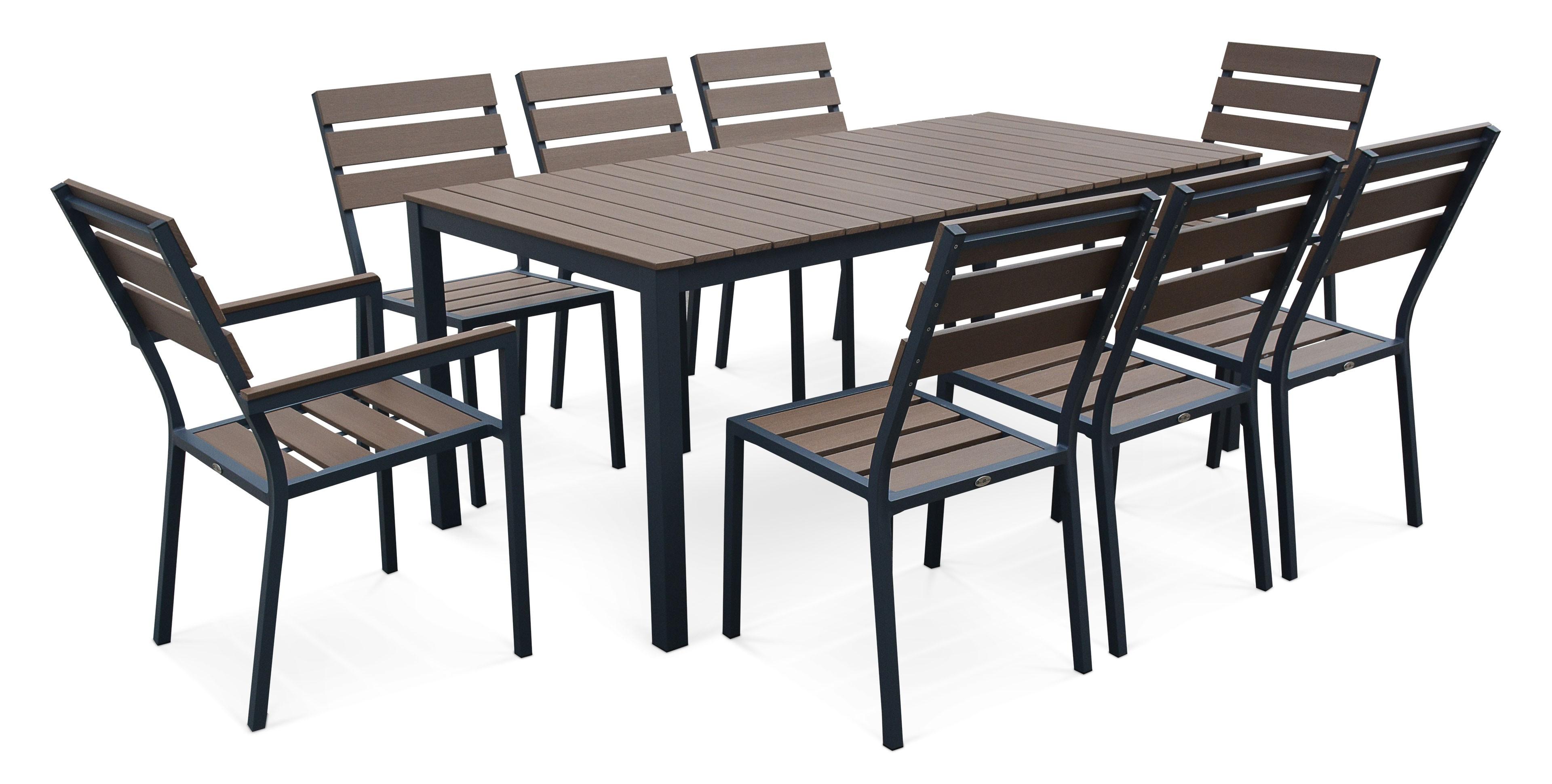 Ensemble Table Et Chaise De Jardin 4 Personnes - Veranda pour Table Jardin 4 Personnes