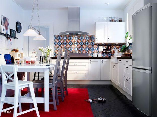 Épinglé Sur Deco Pour Petit Appartement tout Refaire Sa Cuisine Sans Changer Les Meubles