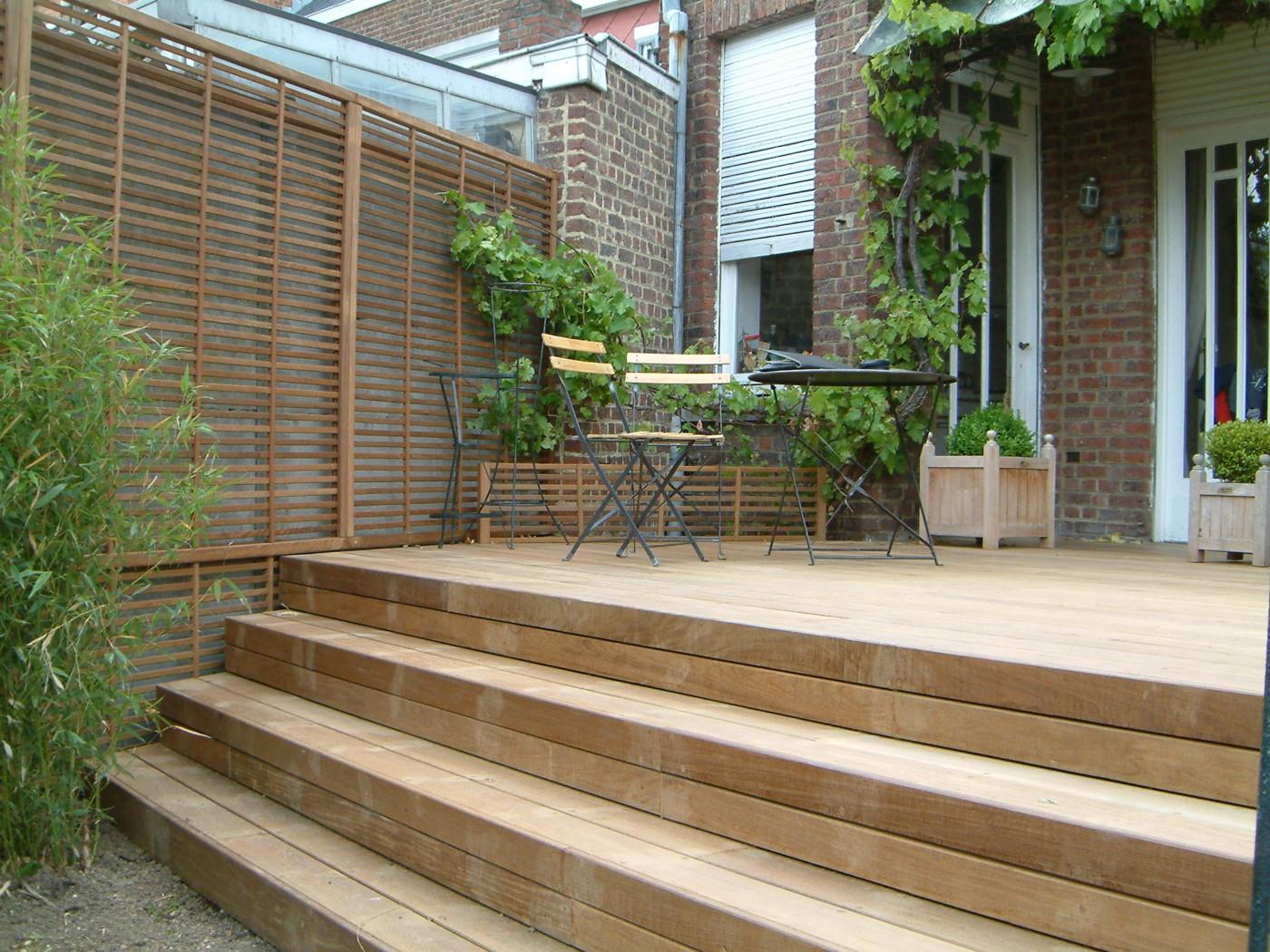Escaliers En Bois Sur Mesure - Mt-Design dedans Construire Auvent De Terrasse En Bois