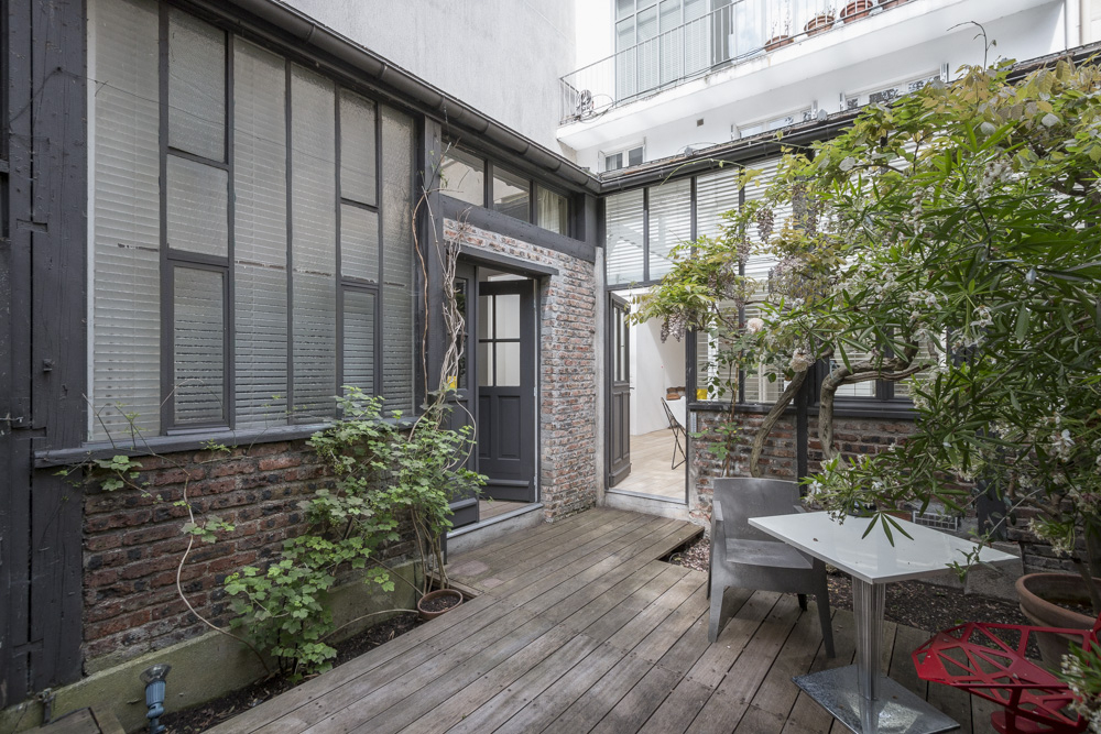 Espaces Atypiques Paris : Loft Terrasse Maison Architecte à Vente Privée Jardin